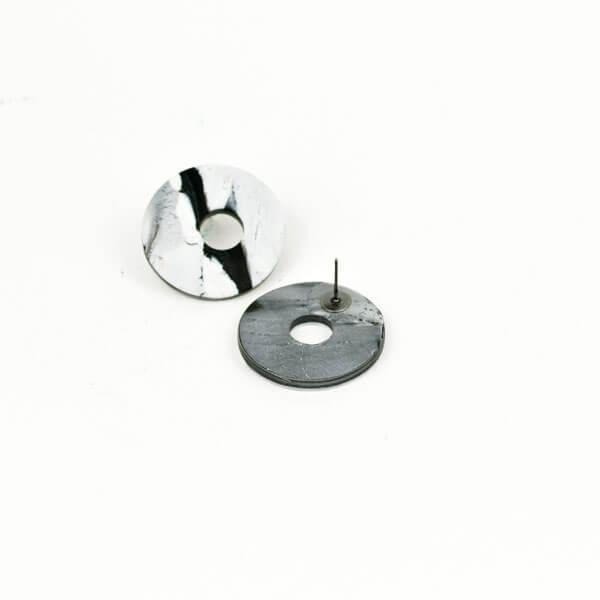 pendientes-circulos-marmolados