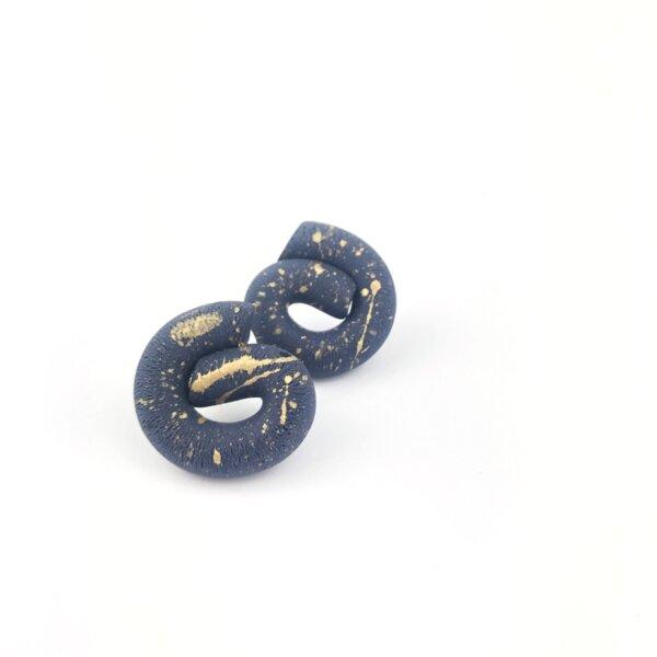 pendientes-nudo-azul-dorado
