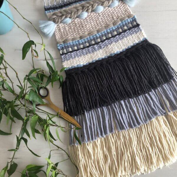 tapiz en telar