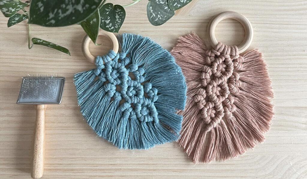 hojas de macrame